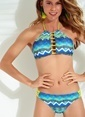 Morhipo Beach Dekolteli Bikini Yeşil